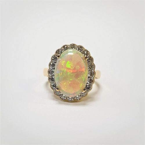Cuttings Jewellers and Pawnbrokers, womens luxury antique oval ring with pearl