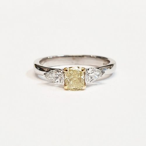 Cuttings Jewellers and Pawnbrokers, yellow ring diamond silver luxury womens