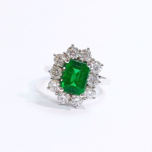Cuttings the Jewellers and Pawnbrokers diamond emerald silver luxury ring engagement